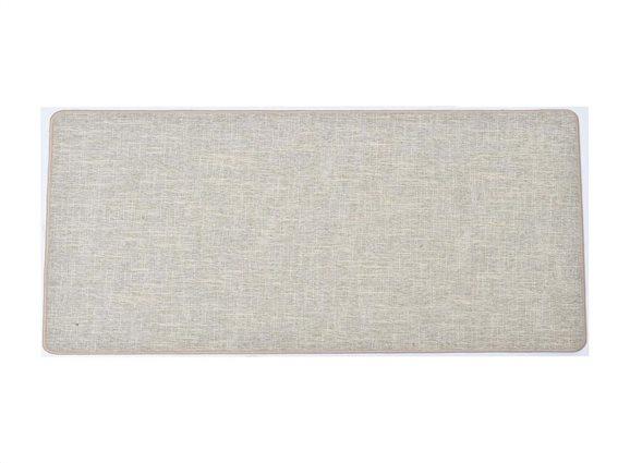 Πατάκι χαλάκι κουζίνας σε μπεζ χρώμα, 45x120 cm, Kitchen mat beige