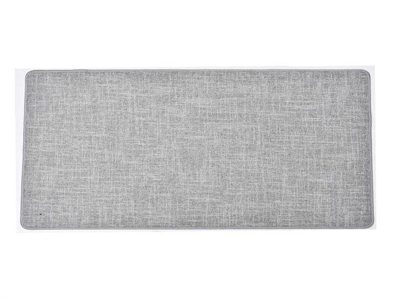 Πατάκι χαλάκι κουζίνας σε γκρι χρώμα, 45x120 cm, Kitchen mat gray