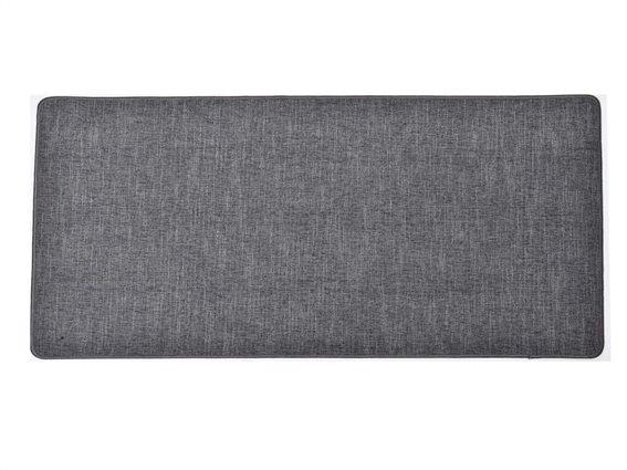 Πατάκι χαλάκι κουζίνας σε σκούρο γκρι χρώμα, 45x120 cm, Kitchen mat dark gray