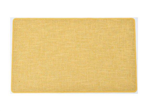 Πατάκι χαλάκι κουζίνας σε κίτρινο χρώμα, 45x60 cm, Kitchen mat yellow