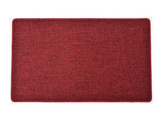 Πατάκι χαλάκι κουζίνας σε κόκκινο χρώμα, 45x60 cm, Kitchen mat red