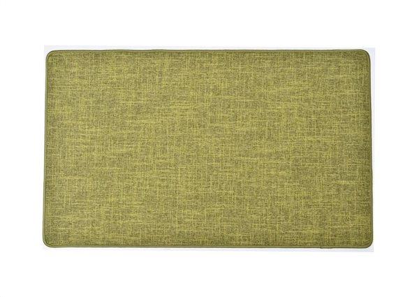 Πατάκι χαλάκι κουζίνας σε λαδί απόχρωση, 45x60 cm, Kitchen mat Olive