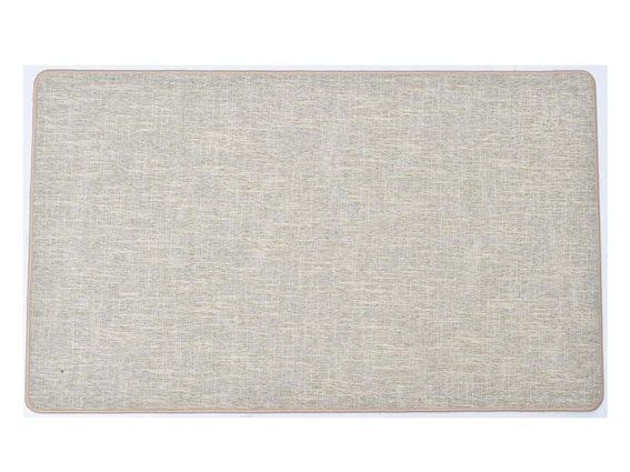 Πατάκι χαλάκι κουζίνας σε μπεζ χρώμα, 45x60 cm, Kitchen mat Beige
