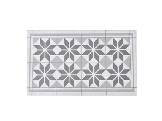 Πατάκι χαλάκι κουζίνας με γεωμετρικό σχέδιο, 50x80 cm, Kitchen mat