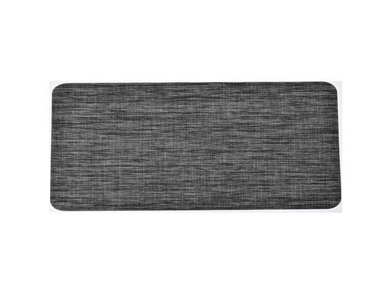 Πατάκι χαλάκι κουζίνας σε σκούρο γκρι αποχρώσεις, 50x120 cm, Kitchen mat Dark Gray