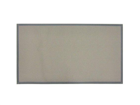 Πατάκι χαλάκι κουζίνας με πλέξη σε μπεζ χρώμα, 50x120 cm, Kitchen mat Beige