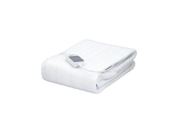 Μονή Ηλεκτρική Κουβέρτα Θερμαινόμενο Υπόστρωμα 60W σε Λευκό χρώμα, 80x150 cm, Alpina underblanket