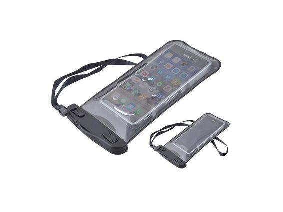 """Αδιάβροχη θήκη κινητού έως 6"""" με κλείσιμο ασφαλείας,  διαστάσεις 20,5x11,3cm"""