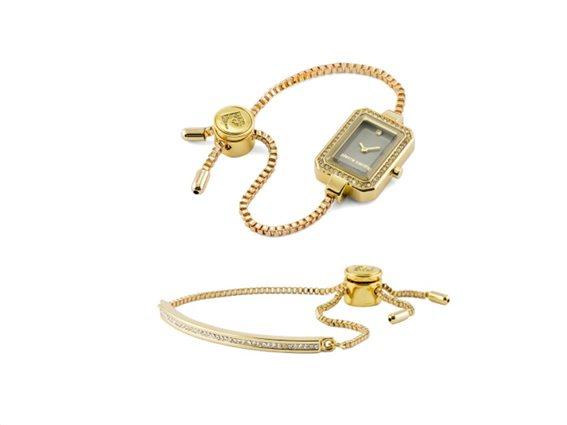 Pierre Cardin PCX6544L287 Σετ συλλογή Κοσμημάτων με Γυναικείο Ρολόι, Gift set