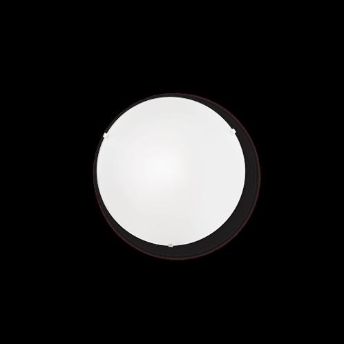 Ideal Lux Φωτιστικό οροφής - Πλαφονιέρα - Σποτ Μονόφωτο SIMPLY PL1 007960