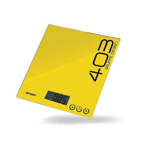 Gruppe Ζυγαριά Κουζίνας 5kg Κίτρινη EC403