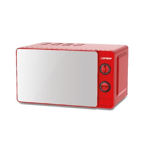 Gruppe Φούρνος Μικροκυμάτων κόκκινος 20ΜΧ77V-L