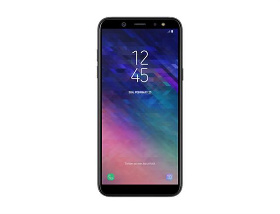 Samsung Galaxy A6 Κινητό Smartphone Dual Sim Black