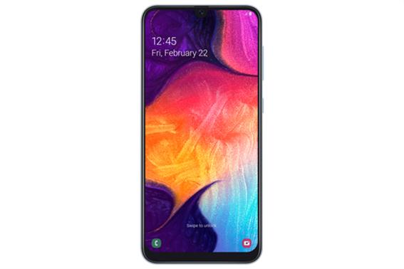 Samsung Galaxy A50 Κινητό Smartphone Dual Sim White