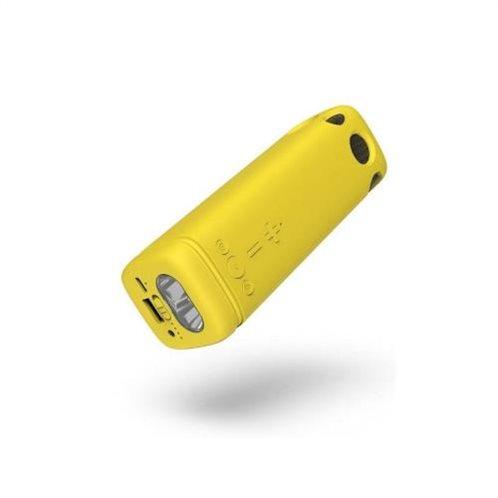 Puridea Power Bank - Φακός & Ηχείο Bluetooth Puridea i2SE 4000mAh Κίτρινο