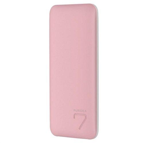 Φορτιστής Ανάγκης Puridea S5 7000mAh Ροζ