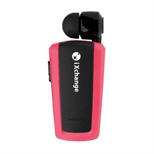 Ακουστικό Bluetooth iXchange Mini Retractable Κοραλί