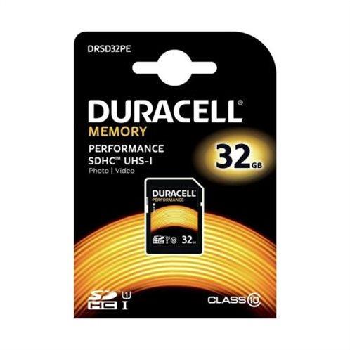 Κάρτα μνήμης SDHC C10 UHS-I U1 Performance Duracell 80MB/s 32GB