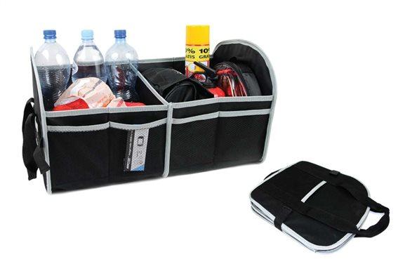 AMIO Θήκη οργάνωσης αυτοκινήτου 01118 με velcro 55 x 31 x 30cm μαύρη