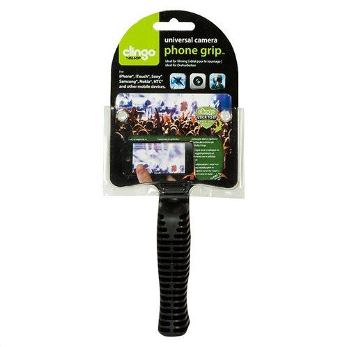 Clingo Universal Βάση Στήριξης Camera Grip Μαύρο