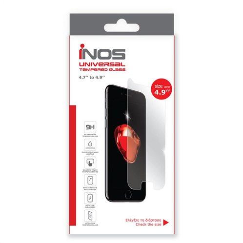Tempered Glass Universal inos 9H 0.33mm για Οθόνες 4.9'' (132.76 x 65.21mm) (1 τεμ.)