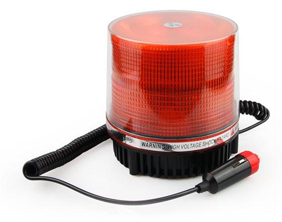 AMIO LED strobe αυτοκινήτου 01276 12V 11.5x11.5cm πορτοκαλί
