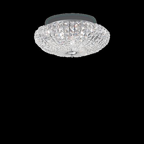 Ideal Lux Φωτιστικό οροφής - Πλαφονιέρα - Σποτ Πολύφωτο VIRGIN PL5 018089