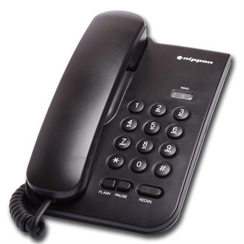 Σταθερό Τηλέφωνο Nippon NP 2035 Μαύρο