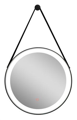 RAVENNA καθρέπτης μπάνιου LED Hilton Hanging 7.5W Φ60 μαύρος