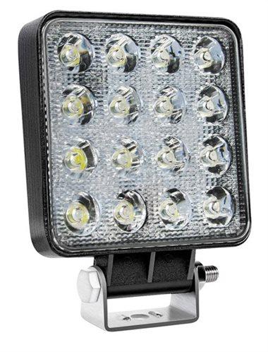 AMIO LED προβολέας AWL10 τετράγωνος 3800lm IP67 48W 9-36V