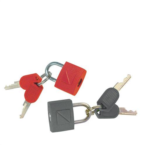 Travel Blue Χρωματιστή κλειδαριά με κλειδί