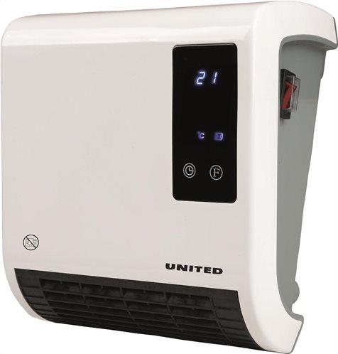 United Αερόθερμο Μπάνιου Με R/C 2000W UHΒ-878 LED DP-7DT 05.400.UN878.00