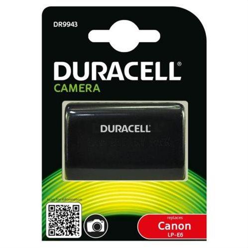Μπαταρία Κάμερας Duracell DR9943 για Canon LP-E6 7.4V 1400mAh (1 τεμ)