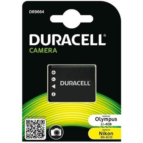 Μπαταρία Κάμερας Duracell DR9664 για Olympus LI-40B & Nikon EN-EL10 3.7V 630mAh (1 τεμ)