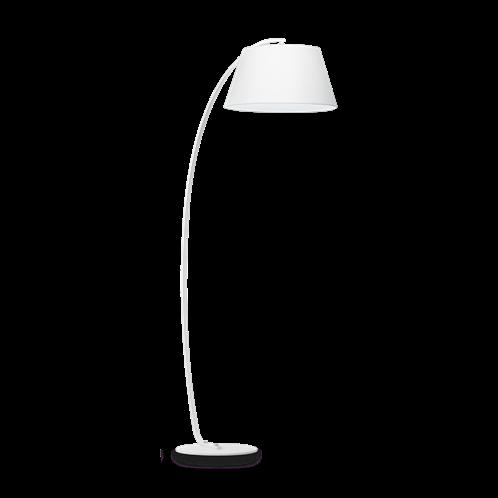 Ideal Lux Φωτιστικό Δαπέδου - Ορθοστάτης Μονόφωτο PAGODA PT1 BIANCO 051741