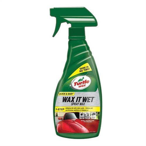 Turtle Wax Κερί Γυαλίσματος Σε Spray FG7638 Wax It Wet 500ml