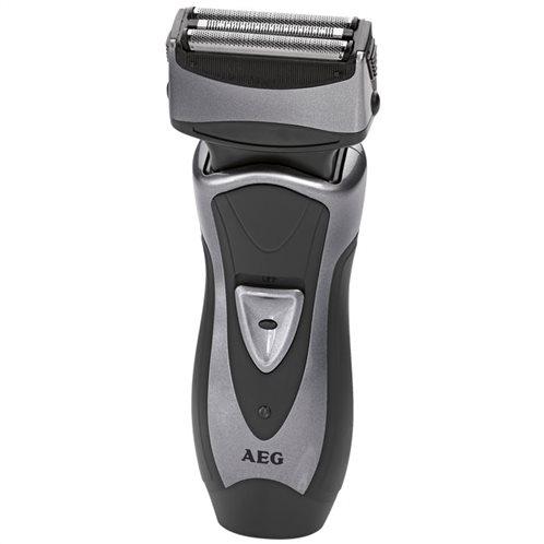 AEG Ανδρική ξυριστική μηχανή προσώπου, με επαναφορτιζόμενη μπαταρία.  HR 5626 GREY