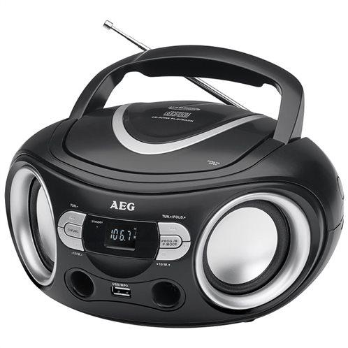 AEG Στερεοφωνικό ραδιόφωνο σε compact σχεδιασμό SR 4374