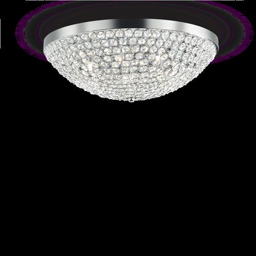 Ideal Lux Φωτιστικό οροφής - Πλαφονιέρα - Σποτ Πολύφωτο ORION PL12 059129
