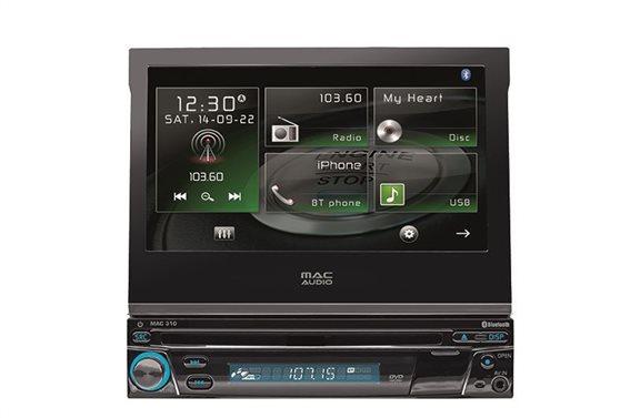 Mac Audio Multimedia Οθόνη Αυτοκινήτου 1DIN MAC 310 - Radio/USB/CD/DVD