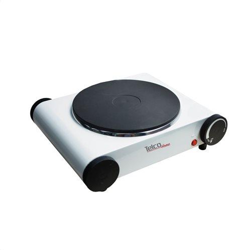 Telco Ηλεκτρική Εστία Καφέ  Μονή GH-615 Διαμ. 18,5CM 1500W Λευκό