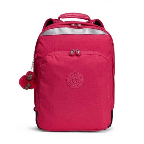 Kipling σακίδιο πλάτης με θήκη για laptop 42x30x28cm σειρά College Up Ροζ