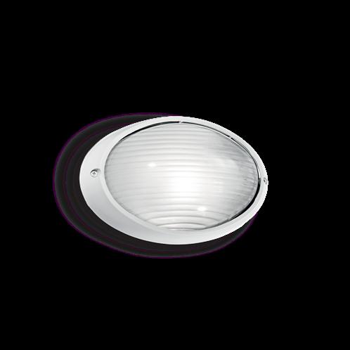 Ideal Lux Φωτιστικό Τοίχου - Απλίκα Μονόφωτο MIKE AP1 SMALL BIANCO 066899