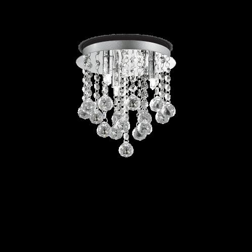 Ideal Lux Φωτιστικό οροφής - Πλαφονιέρα - Σποτ Πολύφωτο BIJOUX PL3 089461