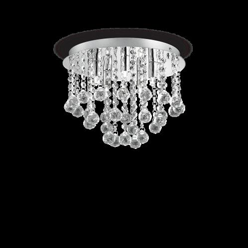 Ideal Lux Φωτιστικό οροφής - Πλαφονιέρα - Σποτ Πολύφωτο BIJOUX PL5 089485