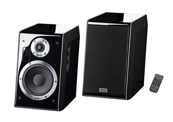 Heco Ηχοσύστημα Ascada 2.0 BTX Piano Black - Bluetooth/USB/AUX/Optical