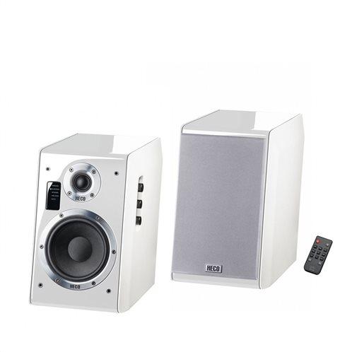 Heco Ηχοσύστημα Ascada 2.0 BTX Piano White - Bluetooth/USB/AUX/Optical