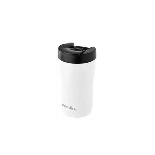 Aladdin Κούπα Θερμομονωτική Ανοξείδωτη Λευκή Latte Leak-Lock 0,25lt