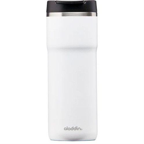Aladdin Ανοξείδωτη Θερμομονωτική Κούπα Barista Thermavac Leak-Lock™ Λευκή 0.35lt