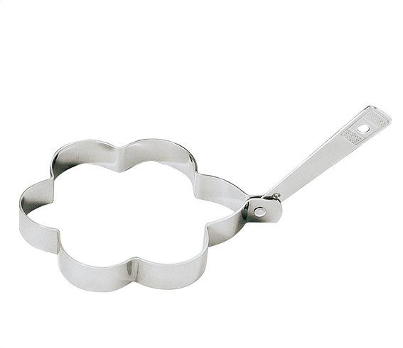 "Kuchenprofi Καλούπια Αυγών ""Μαργαρίτα"" Ανοξείδωτα Σετ 2τεμ. 10,5cm."